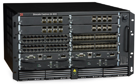 Brocade FastIron SX 800 Switch