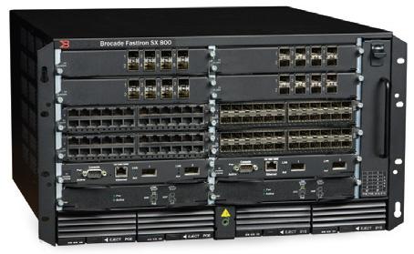 Brocade FastIron SX 800 Switch | DataSwitchWorks com