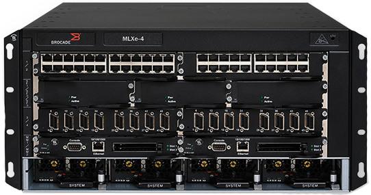 Brocade MLXe-4 Enterprise Switch